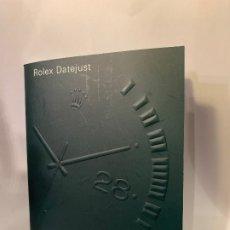 Relojes - Rolex: ROLEX CATÁLOGO RELOJ ROLEX DATEJUST -ORIGINAL- MED.: 9X12,CMS. (G). Lote 178963530