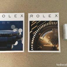 Relojes - Rolex: ROLEX MAGAZINE EDICIONES 04, 05 Y CAJA DE SERVICIO ROLEX COMPLETA. Lote 182318723