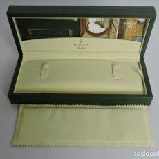 Relojes - Rolex: CAJA ESTUCHE ROLEX CELLINI ORIGINAL + TARJETA . Lote 182585035