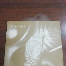 Relojes - Rolex: LISTA DE PRECIOS AÑO 1999. Lote 183001593