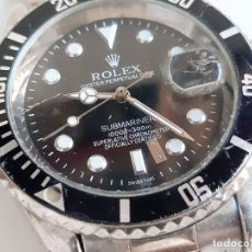 Relojes - Rolex: RELOJ ROLEX AUTOMATICO CON CALENDARIO CRONAGRAFO SUBMARINER - 30.MM DIAMETRO ESFERA (VER DESCRIPCION. Lote 183029160