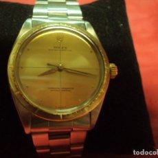 Relojes - Rolex: ROLEX OYSTER PERPETUAL ACERO Y ORO 18K VINTAGE ¡¡COMO NUEVO!!. Lote 183062585