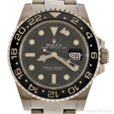 Relojes - Rolex: ROLEX GMT MASTER II CERÁMICO 2007 REF 116710 40MM CAJA Y PAPELES. Lote 187585965