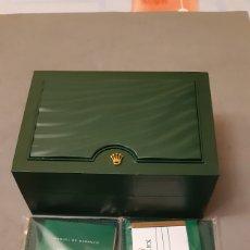 Relojes - Rolex: CAJA ROLEX 18 X 13 X 8 CM. Lote 191569801