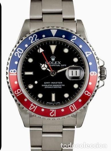 ROLEX GMT MASTER (PEPSI) ¡¡ REFERENCIA-16750 !! COMO NUEVO!! (Relojes - Relojes Actuales - Rolex)