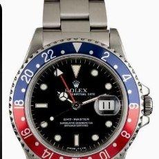 Relojes - Rolex: ROLEX GMT MASTER (PEPSI) ¡¡ REFERENCIA-16750 !! COMO NUEVO!!. Lote 197253967