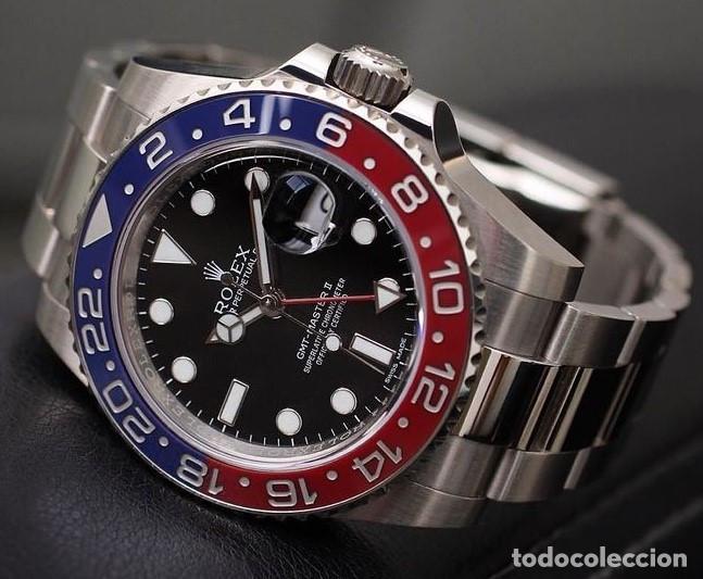 Relojes - Rolex: ROLEX GMT MASTER (PEPSI) ¡¡ REFERENCIA-16750 !! COMO NUEVO!! - Foto 2 - 197253967