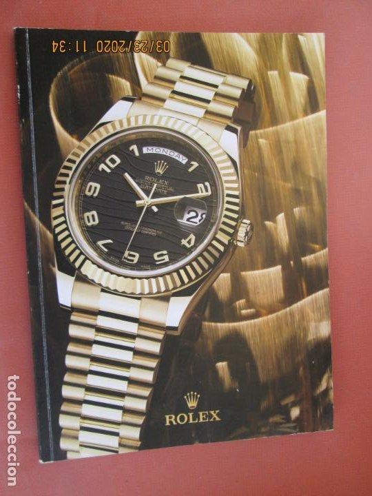 CATÁLOGO ROLEX - RELOJERÍA EL CRONÓMETRO - SEVILLA. (Relojes - Relojes Actuales - Rolex)