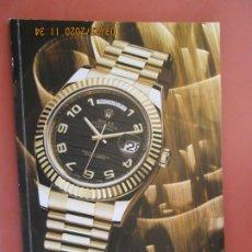 Relojes - Rolex: CATÁLOGO ROLEX - RELOJERÍA EL CRONÓMETRO - SEVILLA. . Lote 198250406