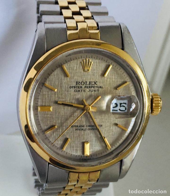 ROLEX OYSTER DATE JUST-REF.1570-ACERO Y ORO 18K ¡¡COMO NUEVO!! (Relojes - Relojes Actuales - Rolex)