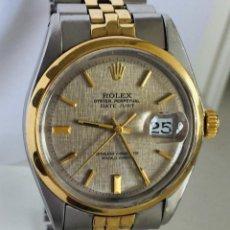 Relojes - Rolex: ROLEX OYSTER DATE JUST-EDICION ESPECIAL-REF.1570-ACERO Y ORO 18K ¡¡COMO NUEVO!!. Lote 95092571