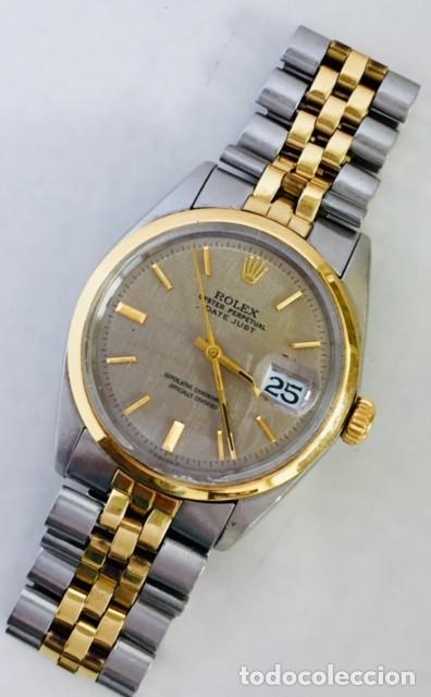 Relojes - Rolex: ROLEX EDIC.ESPECIAL-REF.1570-ORO18KTS-ACERO-¡¡COMO NUEVO!! - Foto 2 - 202724567