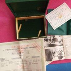 Relojes - Rolex: CAJA DE RELOJ ROLEX CON DOCUMENTACION. 5X9,5X12,5 CM. Lote 205163777