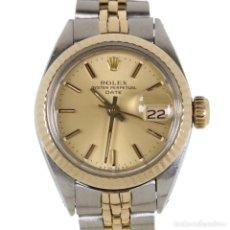 Relojes - Rolex: ROLEX DATE ACERO Y ORO MUJER 1983 REF.6917. Lote 205374592