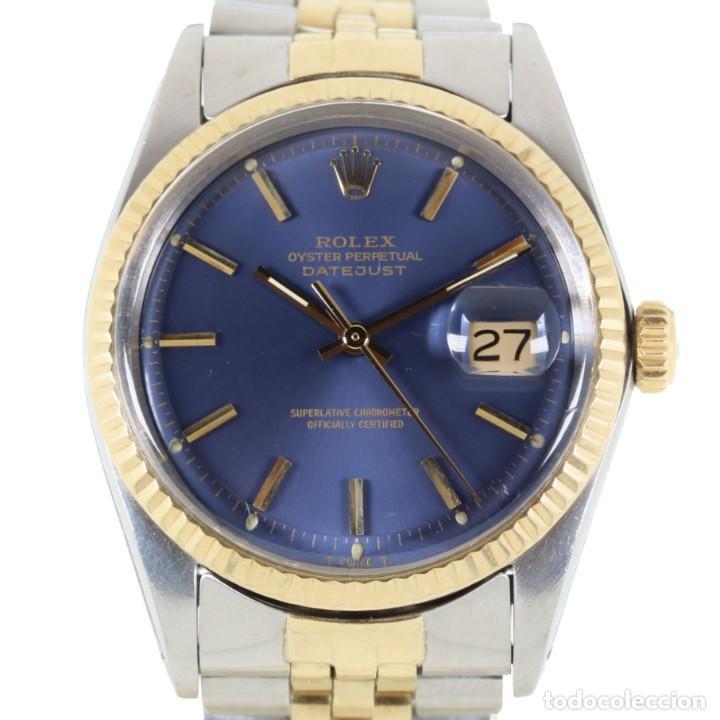 ROLEX DATEJUST ACERO Y ORO CAJA/PAPELES 1974 REF.1601 (Relojes - Relojes Actuales - Rolex)