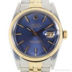 Relojes - Rolex: ROLEX DATEJUST ACERO Y ORO CAJA/PAPELES 1974 REF.1601. Lote 206215623