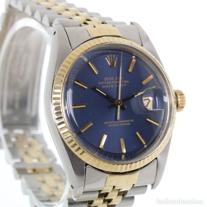 Relojes - Rolex: Rolex Datejust Acero y Oro Caja/Papeles 1974 ref.1601 - Foto 2 - 206215623