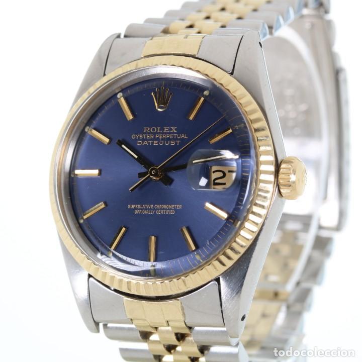 Relojes - Rolex: Rolex Datejust Acero y Oro Caja/Papeles 1974 ref.1601 - Foto 3 - 206215623