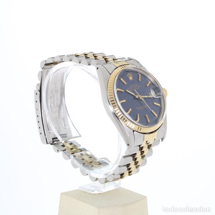 Relojes - Rolex: Rolex Datejust Acero y Oro Caja/Papeles 1974 ref.1601 - Foto 8 - 206215623