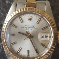 Relojes - Rolex: ROLEX OYSTER PERPETUAL DATE DE ACERO Y ORO AUTOMATICO FUNCIONANDO. Lote 206388646