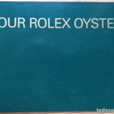 Relojes - Rolex: MANUAL YOUR ROLEX OYSTER EN INGLES AÑO 2002. Lote 207732970