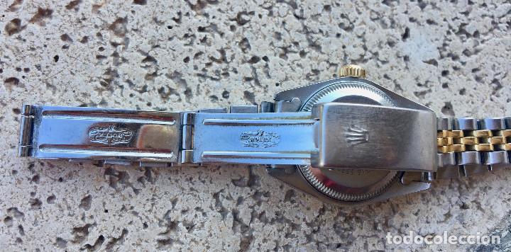 Relojes - Rolex: ROLEX OYSTER PERPETUAL DATEJUST-ORO Y ACERO-SUPERLATIVE CHRONOMETER-SWISS MADE 1992 PARA SEÑORA - Foto 8 - 212408133
