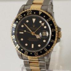 Relojes - Rolex: ROLEX GMT MASTER ORO-ACERO ¡¡COMO NUEVO!!. Lote 217571175