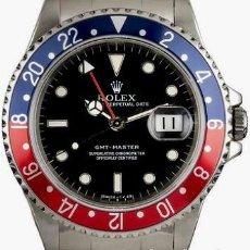 Relojes - Rolex: ROLEX GMT MASTER (PEPSI) COMO NUEVO. ¡¡ REF.16750 !!. Lote 217571546