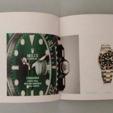Relojes - Rolex: CATÁLOGO OFICIAL DE RELOJES SUIZOS ROLEX. 2014-2015. SUBMARINER, DATEJUST, DAYTONA, GMT MASTER. Lote 218404387