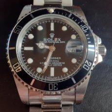 Relojes - Rolex: RELOJ ROLEX OYSTER PERPETUAL DATE SUBMARINER AUTOMATIC .MIDE 40 MM DIAMETRO. Lote 218478343