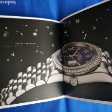 Relojes - Rolex: CATÁLOGO RELOJ ROLEX ACTUAL.. Lote 221907251