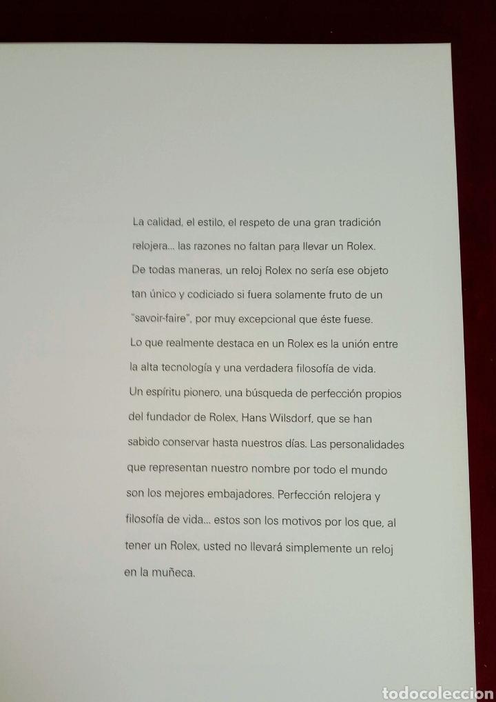 Relojes - Rolex: CATÁLOGO OFICIAL ROLEX OYSTER PERRETUAL - Foto 4 - 222145156