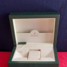 Relojes - Rolex: CAJA ROLEX CON PAPELES TAL CUAL COMO SE VE EN FOTOS. Lote 222397957
