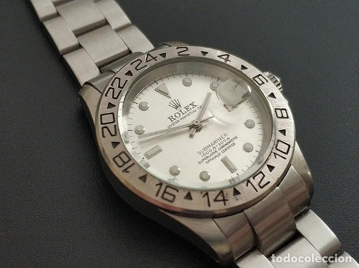 RELOJ REPLICA ROLEX OYSTER PERPETUAL DATE SUBMARINER 21 JEWELS SWISS MADE (Relojes - Relojes Actuales - Rolex)