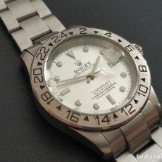 Relojes - Rolex: RELOJ REPLICA ROLEX OYSTER PERPETUAL DATE SUBMARINER 21 JEWELS SWISS MADE. Lote 222638265