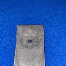 Relojes - Rolex: FUNDA PARA RELOJ ROLEX ANTE AÑOS 80 ORIGINAL. Lote 223423537