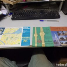 Relojes - Rolex: DOS HOJAS AÑOS 70 PUBLICIDAD RELOJES ROLEX ZENITH Y OTROS. Lote 223742122