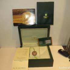 Relojes - Rolex: CAJA RELOJ ROLEX CON TODA SU DOCUMENTACION MUY BUEN ESTADO,BARATA. Lote 225380532