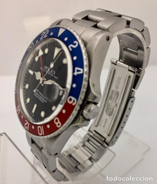 Relojes - Rolex: ROLEX GMT MASTER (PEPSI) COMO NUEVO. ¡¡ REF.16750 !! - Foto 2 - 207249196