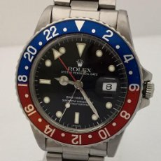 Relojes - Rolex: ROLEX GMT MASTER (PEPSI) COMO NUEVO. ¡¡ REF.16750 !!. Lote 207249196