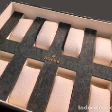 Relojes - Rolex: 1 BANDEJA PARA EXPOSICIÓN DE RELOJES ROLEX. Lote 233584700
