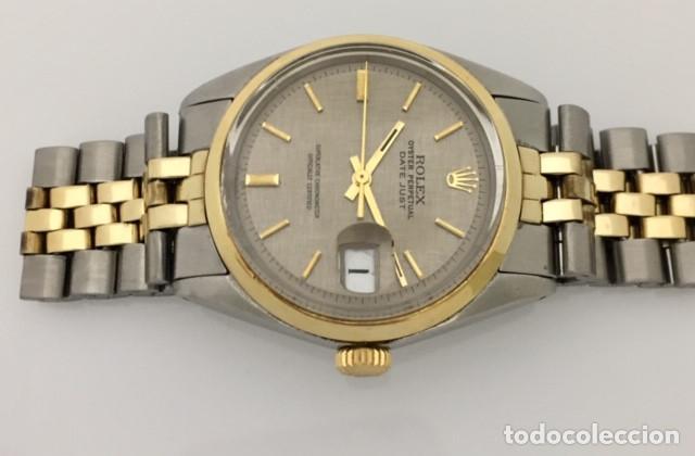 Relojes - Rolex: ROLEX OYSTEL PERPETUAL DATE JUST EDIC.ESPECIAL-REF.1570-ORO18KTS-ACERO-¡¡COMO NUEVO!! - Foto 3 - 202724567
