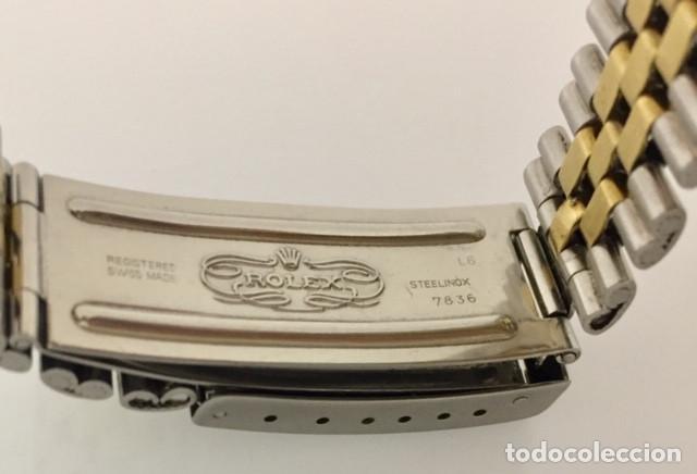 Relojes - Rolex: ROLEX OYSTEL PERPETUAL DATE JUST EDIC.ESPECIAL-REF.1570-ORO18KTS-ACERO-¡¡COMO NUEVO!! - Foto 4 - 202724567