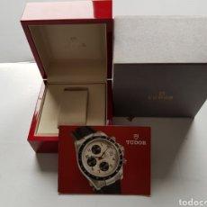 Relojes - Rolex: TUDOR CASA ROLEX CAJA CARTON + CAJA MADERA + LIBRO EXCELENTE ESTADO 85.00.64. Lote 234862940