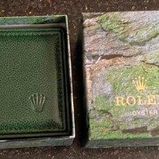 Relojes - Rolex: ESTUCHE PARA ROLEX OYTERDEL 2001 CON CARTERA Y PAPELES PRÁCTICAMENTE NUEVO. Lote 236561880