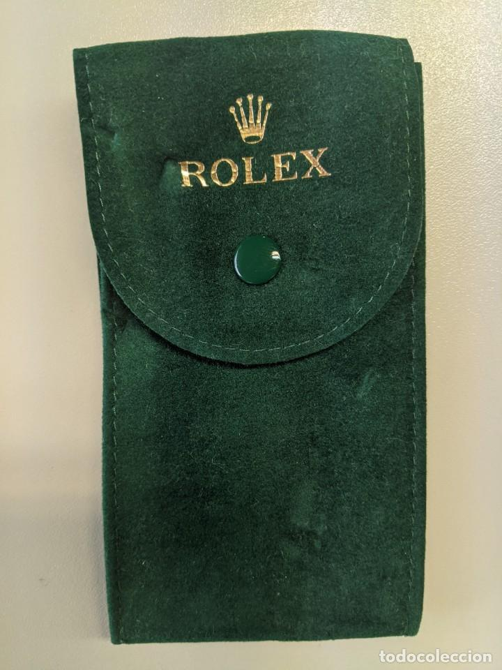 CARTERA ORIGINAL DE ROLEX FIELTRO IMPECABLE - DE RELOJ SUBMARINE (Relojes - Relojes Actuales - Rolex)