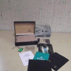 Relojes - Rolex: LOTE DE ROLEX CON CAJAS,CARTERA, PAPELES,GARANTIA Y ETIQUETA 16613. Lote 243562210