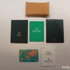 Montres - Rolex: ROLEX, ACCESORIOS OYSTER, ALMOHADILLA, GARANTÍA 2001, INSTRUCCIONES, ETC.. Lote 244932890