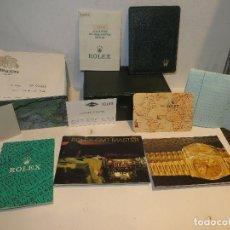 Relojes - Rolex: CAJA ROLEX AÑOS 90 CON DOCUMENTACION COMPLETA EXCELENTE ESTADO.. Lote 245116610