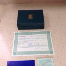 Relojes - Rolex: CAJA RELOJ ROLEX 66.00.3.CON DOCUMENTACIÓN.COLECCION CELLINI (19-7-1976). Lote 245788360